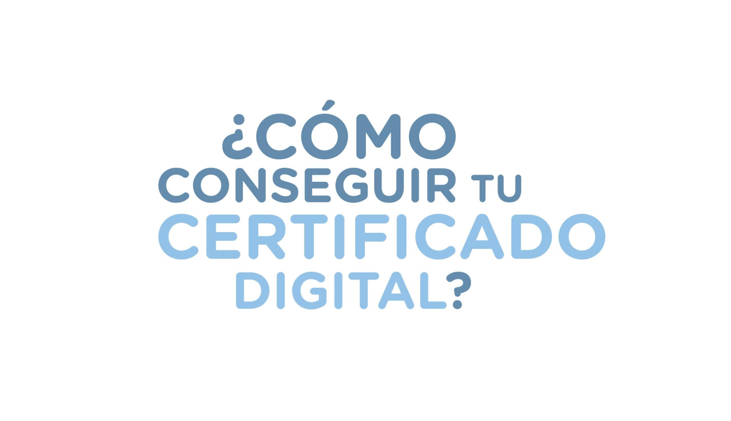 como conseguir certificado digital