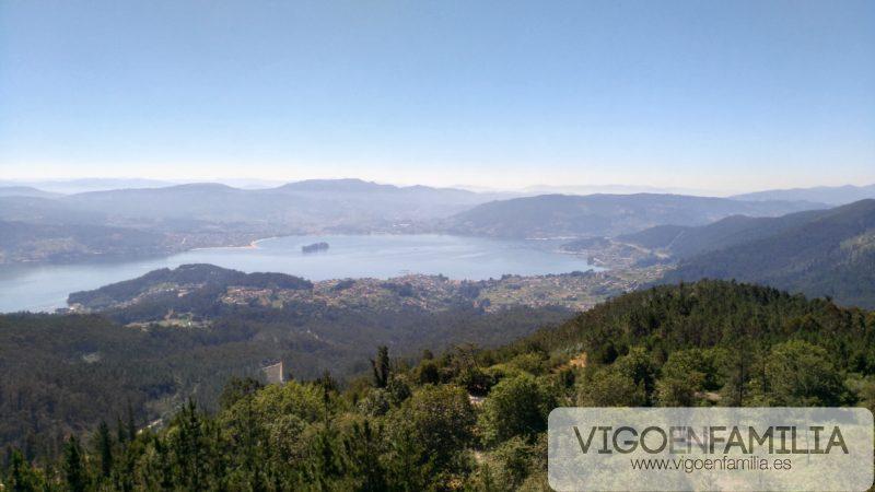Lago Castiñeiras mirador cotorredondo