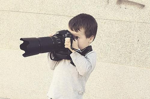 fotografía para niños
