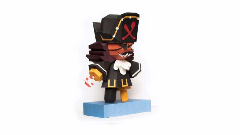 recortables papel pirata