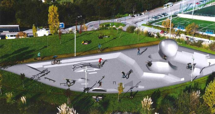 Vigo albergará dos pistas de skate