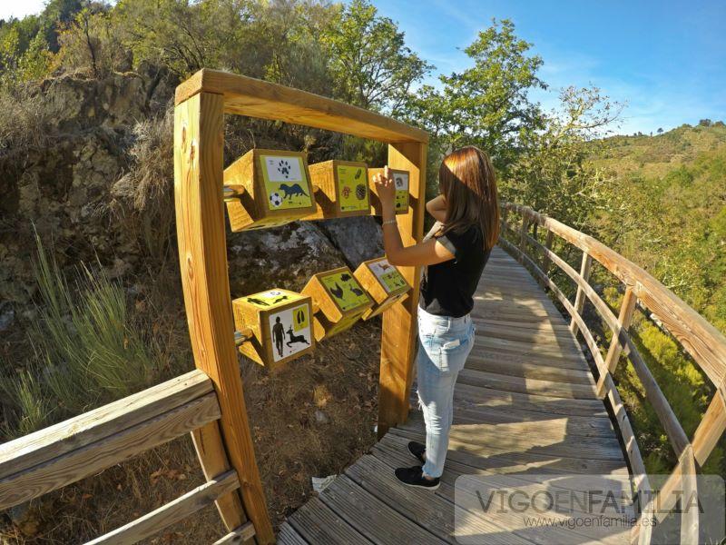 pasarelas del rio mao