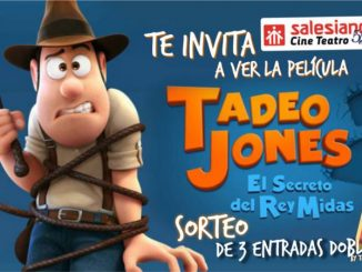 SorteamosTRES ENTRADAS DOBLES para la película Tadeo Jones 2