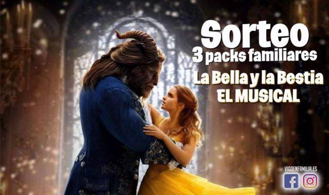 Sorteo 3 ENTRADAS TRIPLES para el musical La Bella y la Bestia