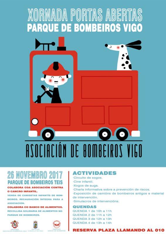 Jornada de puertas abiertas en el parque de Bomberos de Vigo