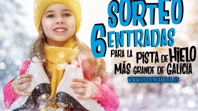 Sorteamos 6 entradas para la pista de hielo más grande de Galicia