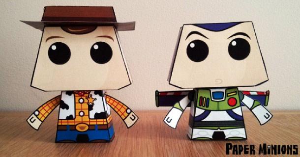 Woody y Buzz lightyear