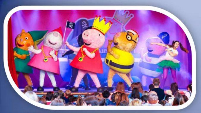 El espectáculo de Peppa Pig y Ben y Holly llegará a Castrelos el próximo mes de agosto.