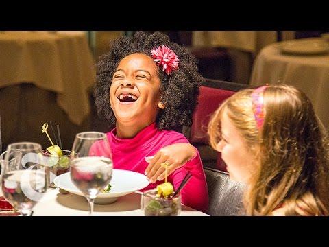 niños restaurante