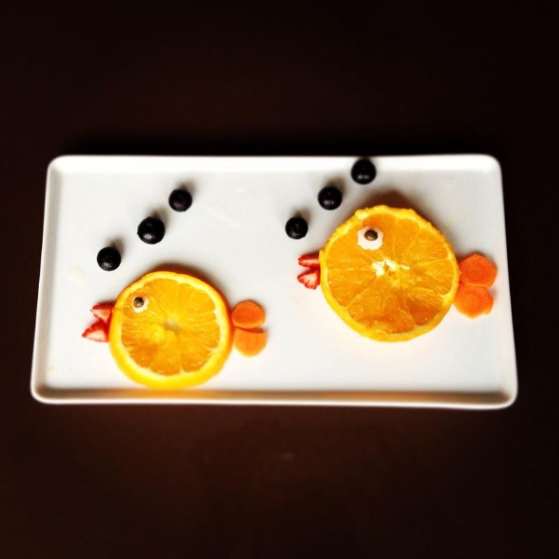 recetas creativas peces naranja