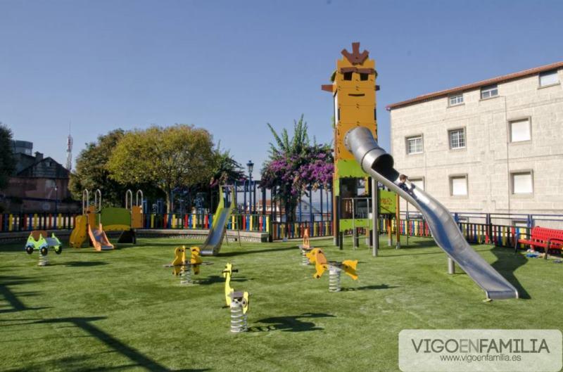 parque infantil chapela