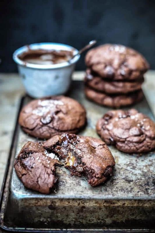galletas nutella con niños