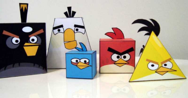 recortables angry birds