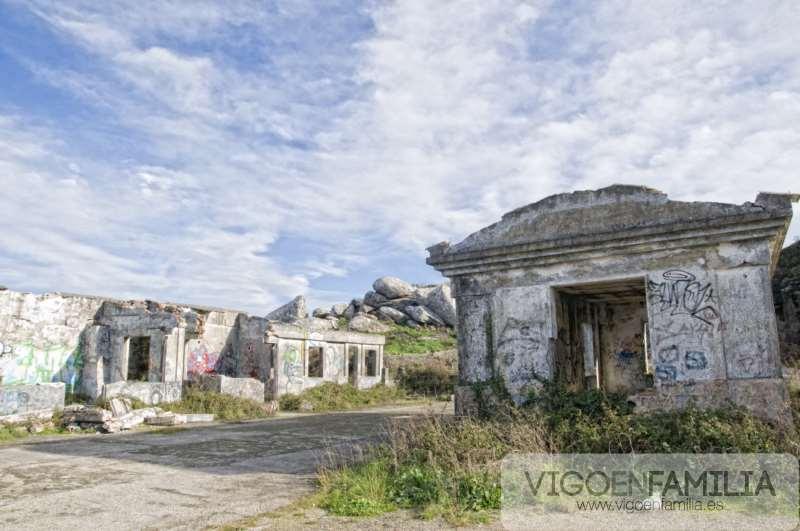 ruinas militares cabo silleiro