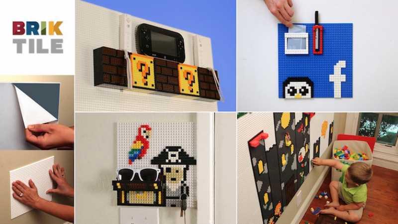 constuye pared lego