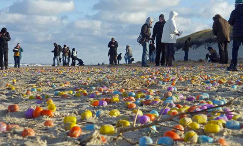 playa plagada kinder