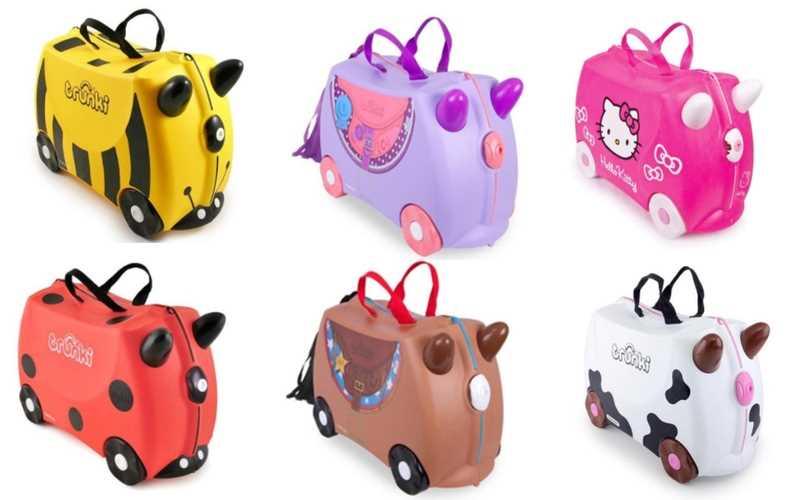 trunki maletas viaje niños