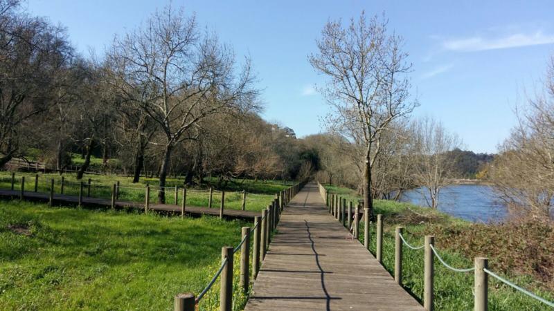 paseo fluvial parque das caldas monçao