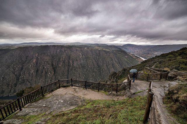 miradores del cañón del sil