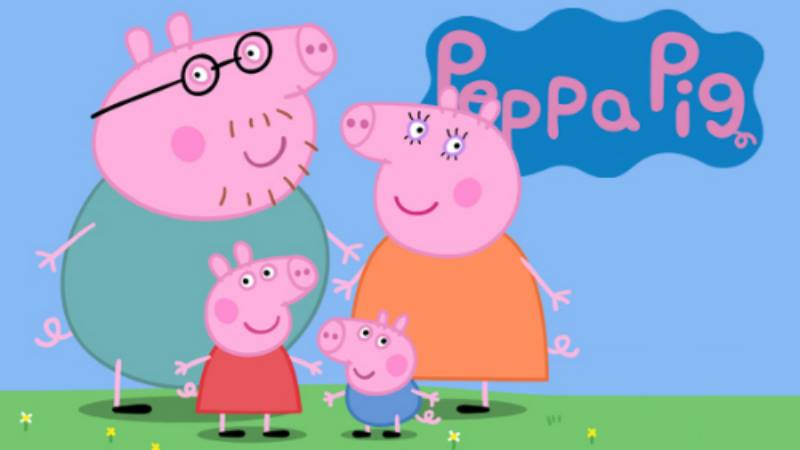 Print Cut De Peppa Pig Family Friends Vigo En Familia