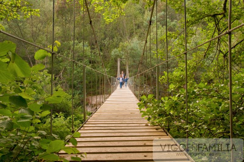 puente colgante de soutomaior