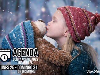Agenda de ocio para niños - Del 25 al 31de diciembre