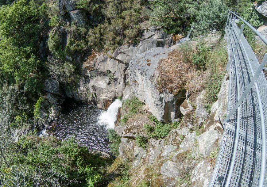 cascada del bergantiño