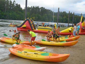 Deportes náuticos y de aventura para niñas y niños en Valença