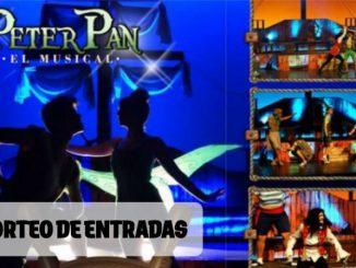 SORTEAMOS 3 ENTRADAS DOBLES para el musical PETER PAN