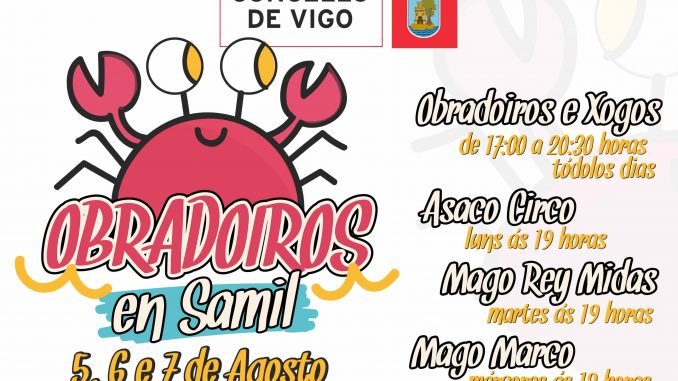 El Concello de Vigo programa actividades infantiles en Samil