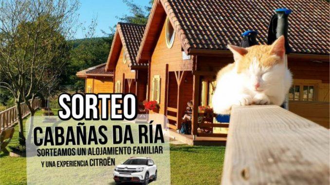 SORTEO de alojamiento en CABAÑAS DA RIA