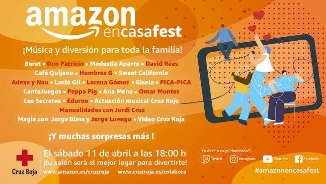 El festival solidario de Amazon