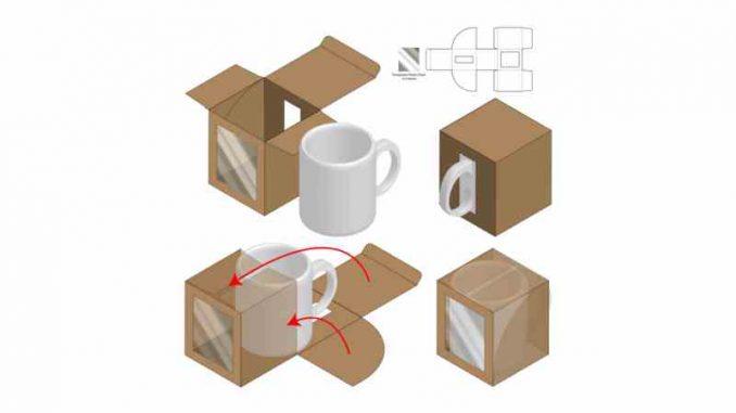 Embalaje para taza personalizada