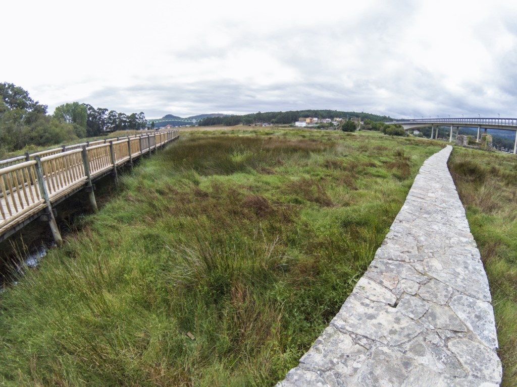 paseo fluvial de catoira
