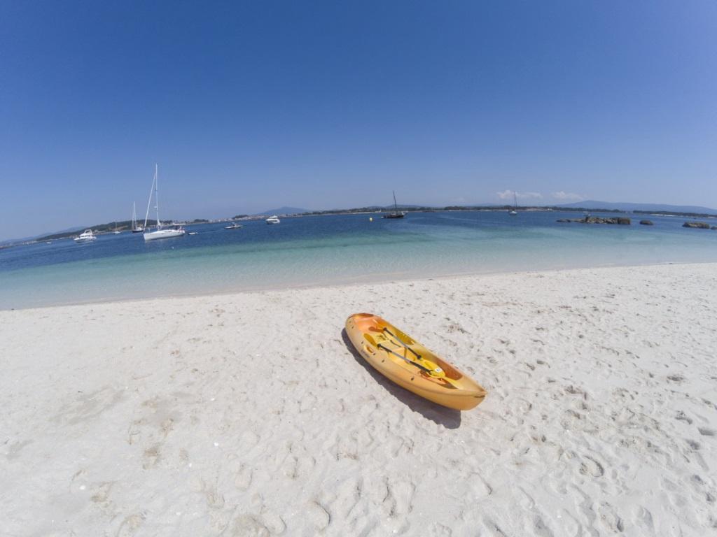 Visita al Islote Areoso en Kayak