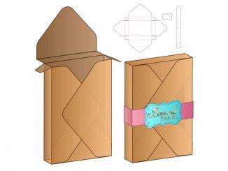 Descarga esta plantilla para crear una caja tipo sobre