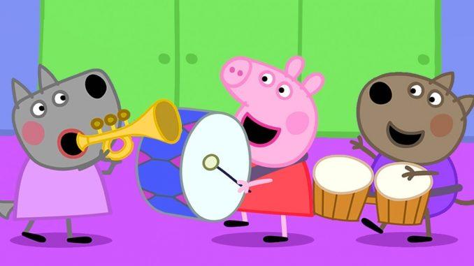 disco de peppa pig