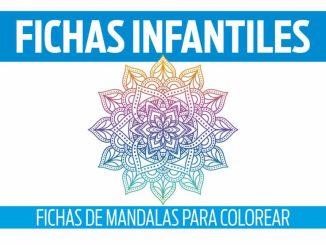 FICHAS DE MANDALAS PARA COLOREAR