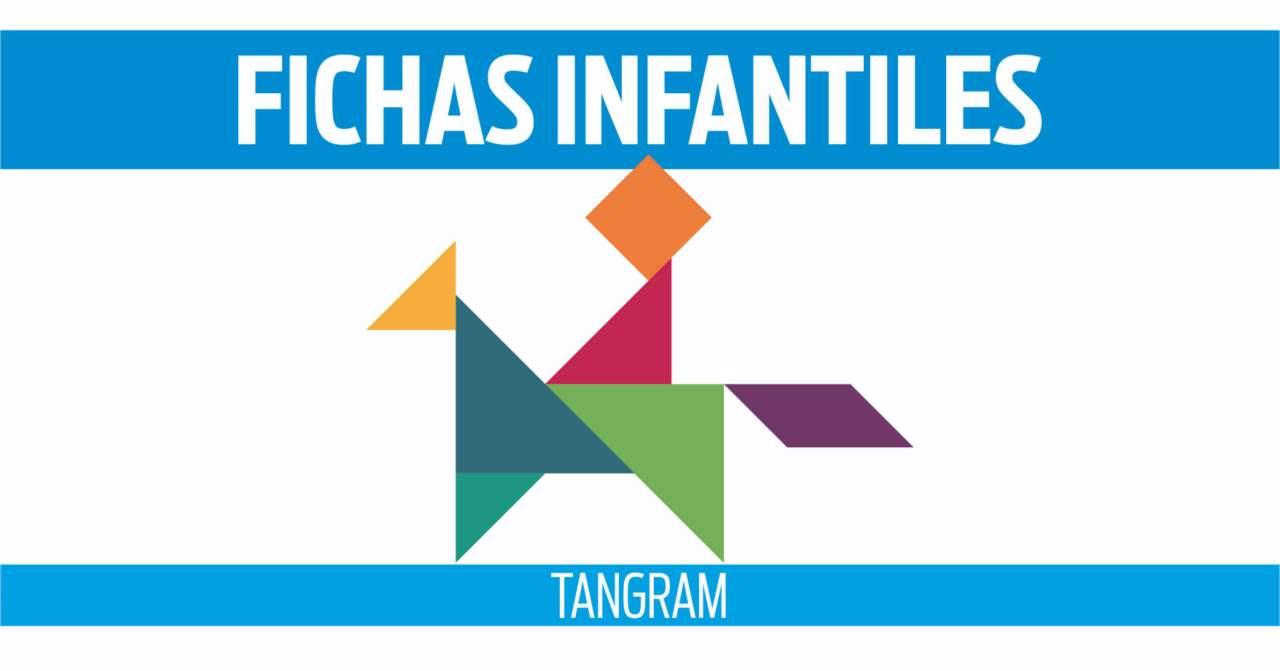 fichas de tangram para niños