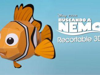 figura de Nemo en 3D