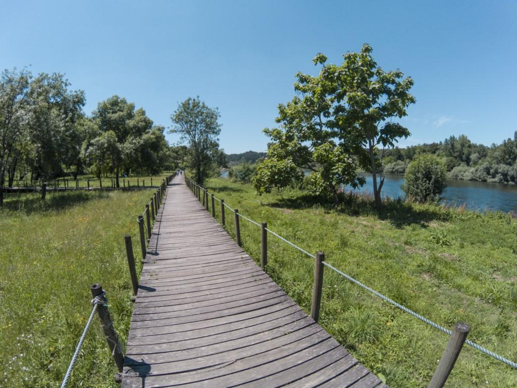 paseo fluvial de Monçao