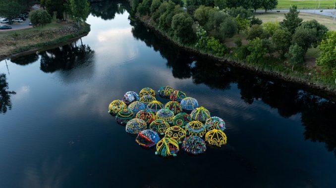 ilhas de plastico